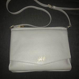 Freshly Picked Gray Crossbody Bag NWOT